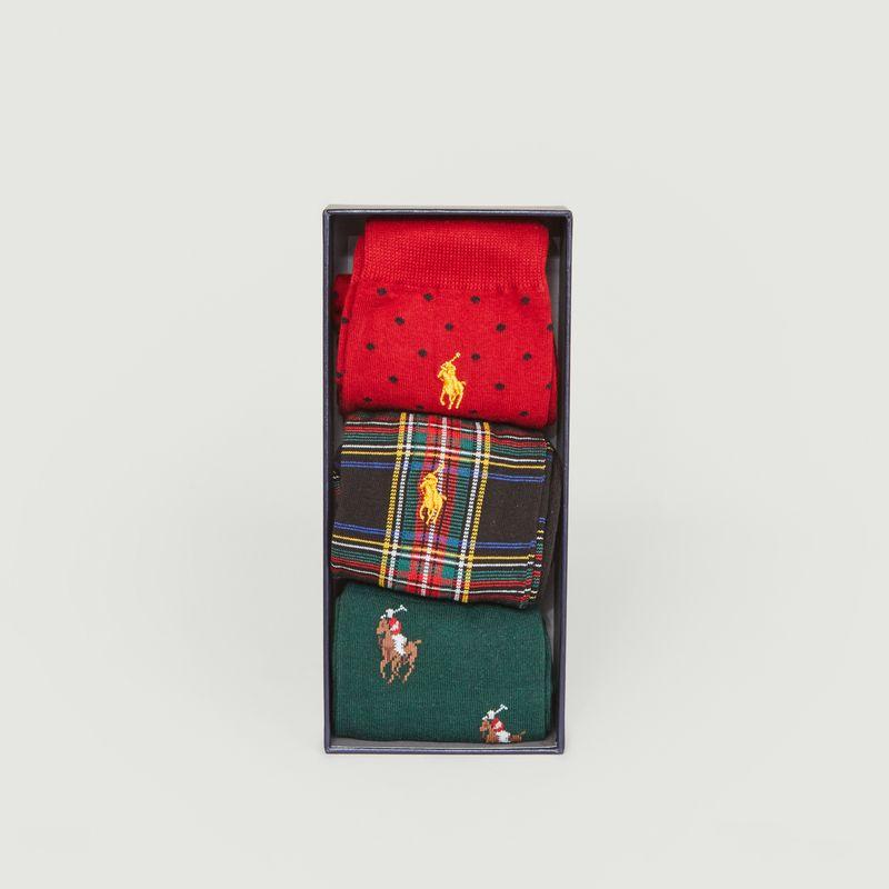 Lot 3 paires de chaussettes  - Polo Ralph Lauren