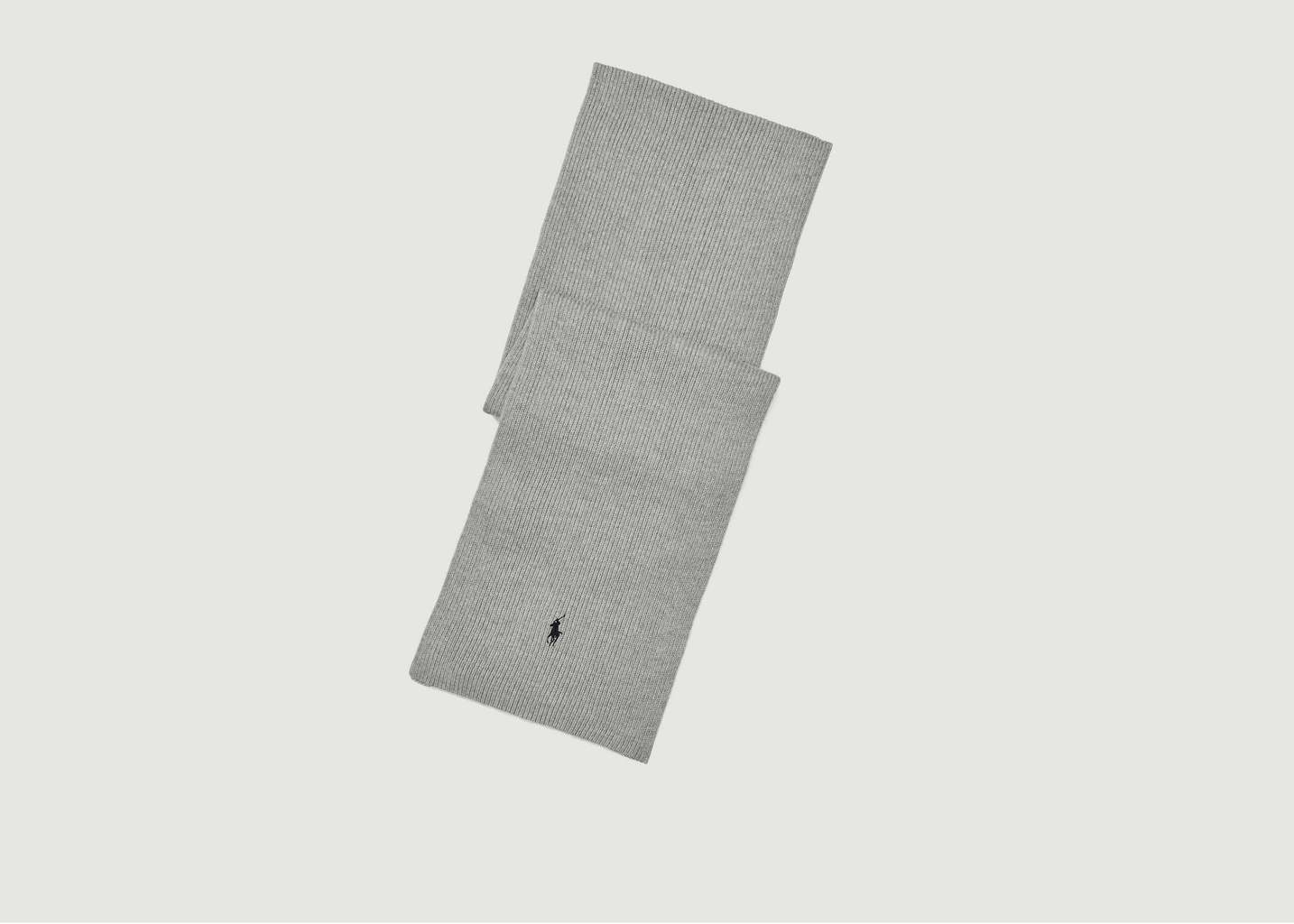 Écharpe Siglée En Laine Mérinos - Polo Ralph Lauren