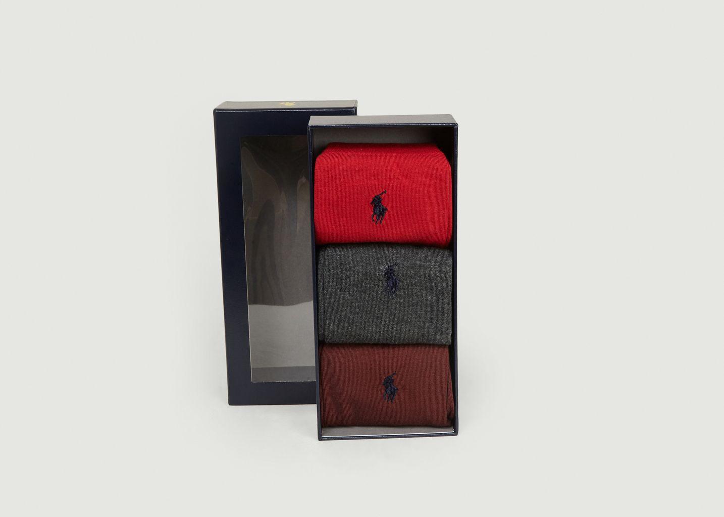 Chaussettes x3 - Polo Ralph Lauren