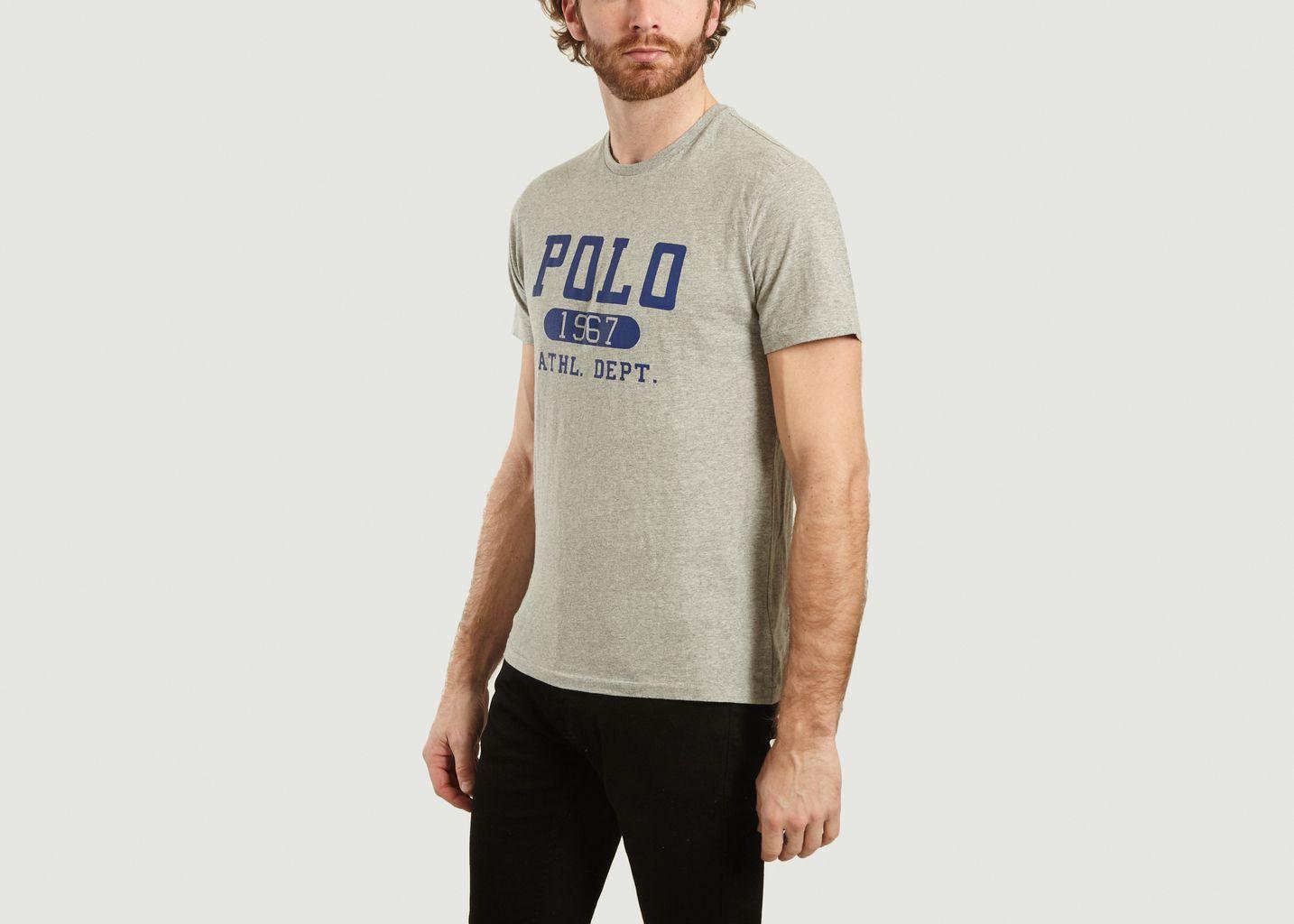 T-Shirt Logo Velours - Polo Ralph Lauren
