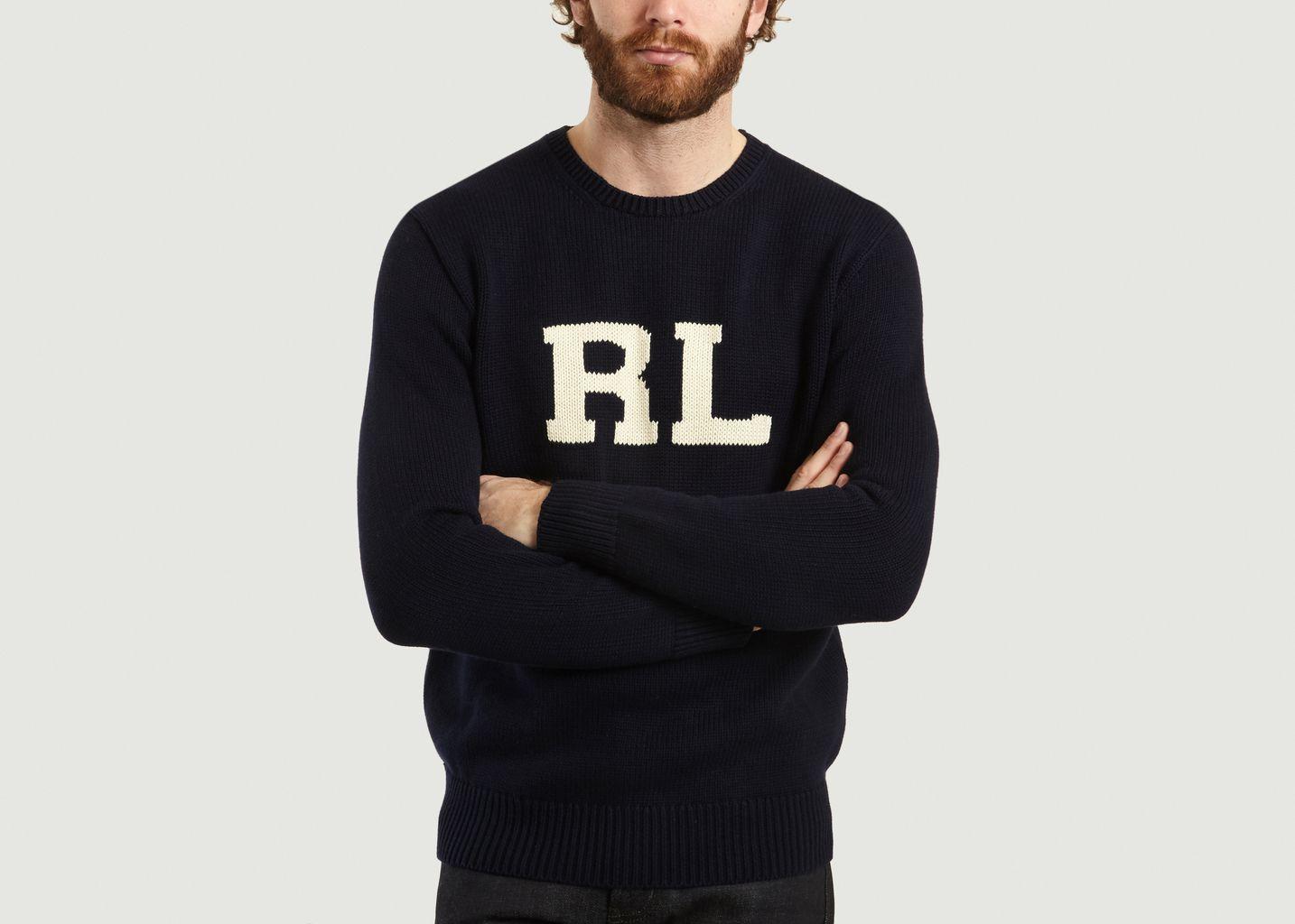 Pull En Coton Initiales RL - Polo Ralph Lauren