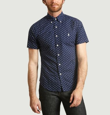 Chemise Ancres all-over