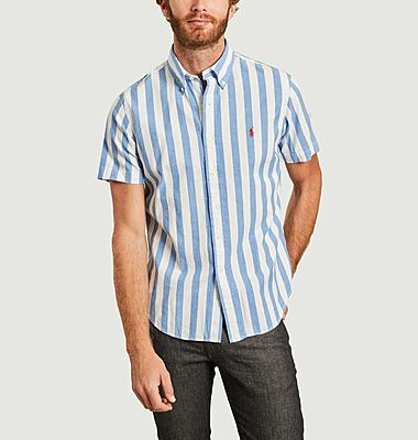Large-striped shirt