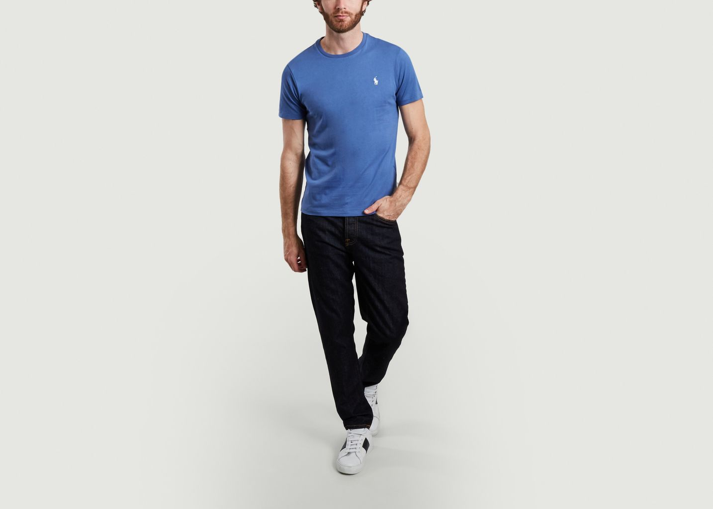 T-shirt logotypé en coton - Polo Ralph Lauren