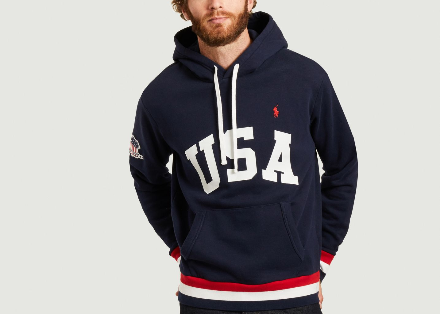 Sweat à capuche USA  - Polo Ralph Lauren
