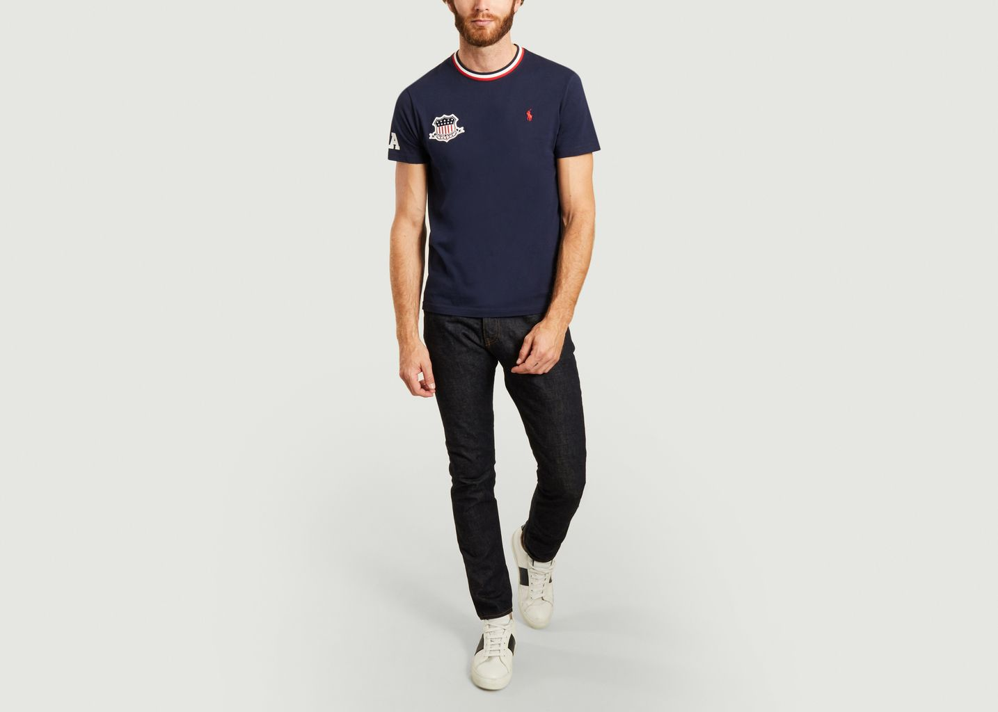 Le T-shirt USA coupe ajustée - Polo Ralph Lauren