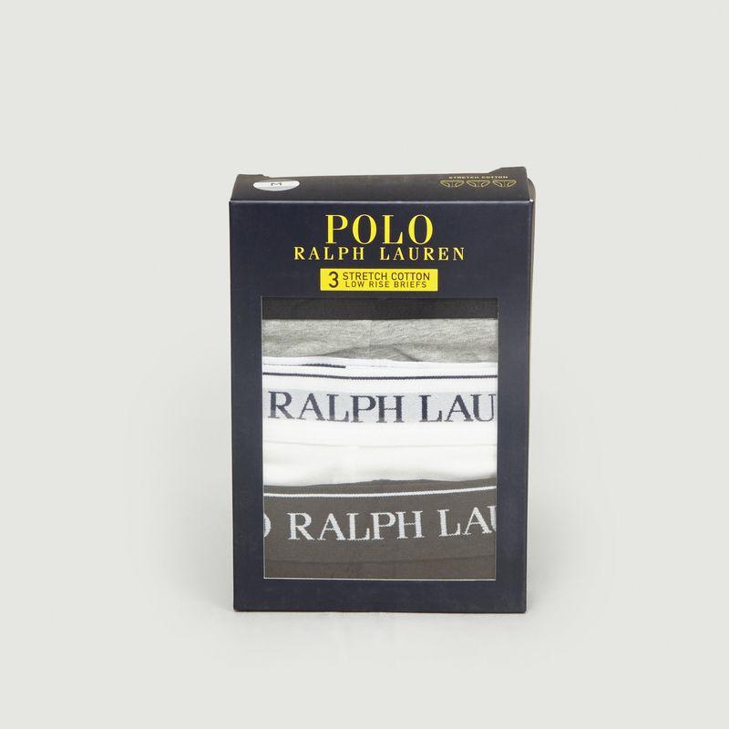 Lot 3 Slips en Coton Stretch - Polo Ralph Lauren