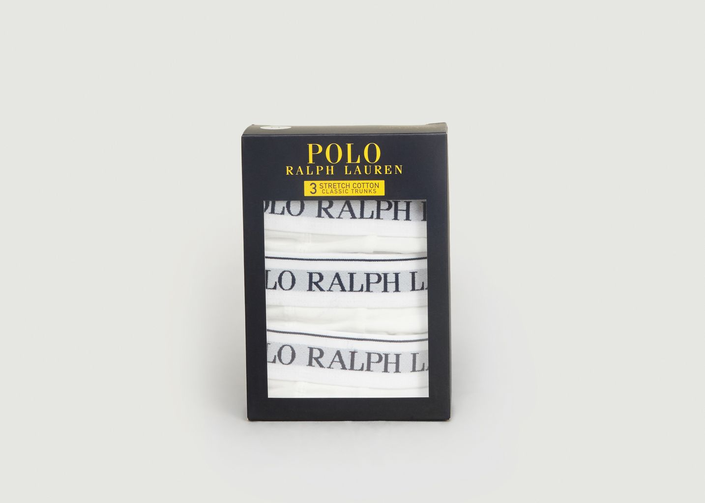 Lot 3 Boxers en Coton Stretch - Polo Ralph Lauren
