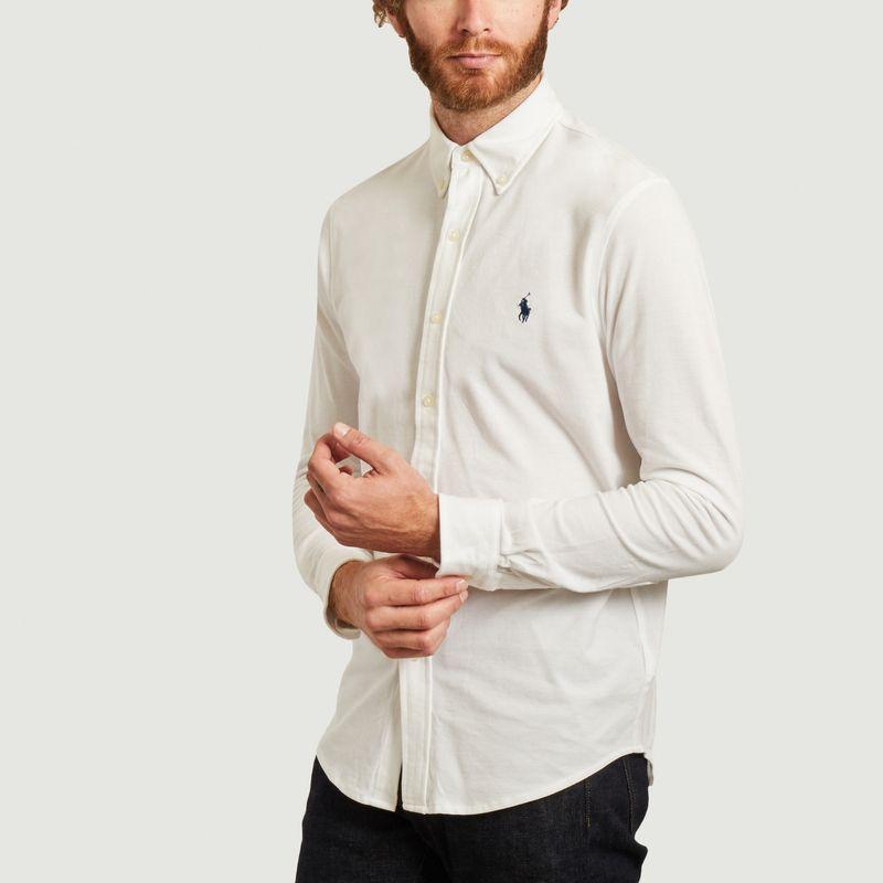 chemise ultra légère en coton piqué - Polo Ralph Lauren