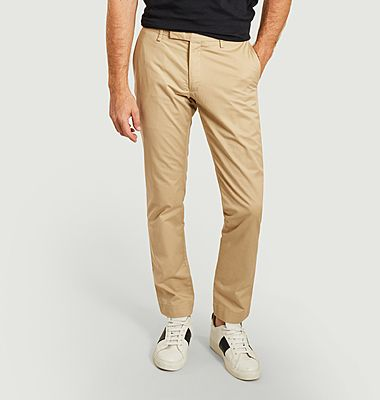 Chino slim stretch pants