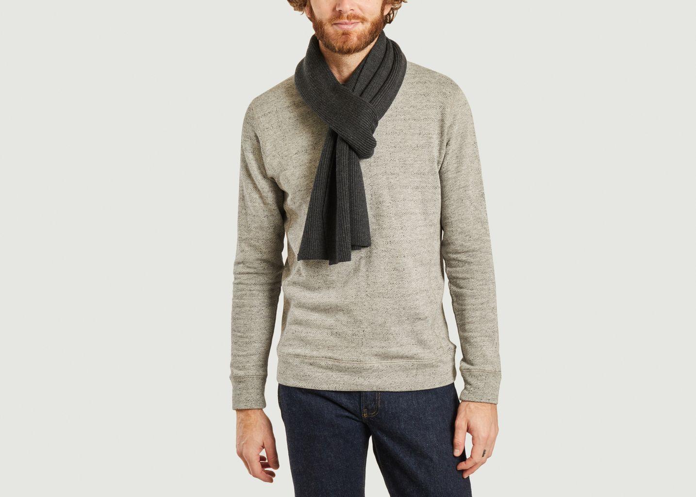 Echarpe siglée en laine  - Polo Ralph Lauren