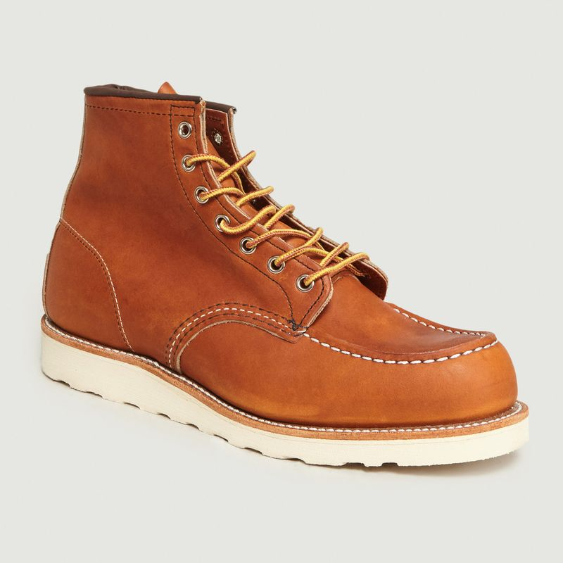 Boots En Cuir A Lacets 875 - Red Wing Shoes