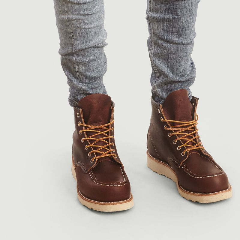 Boots En Cuir A Lacets 8138 - Red Wing Shoes