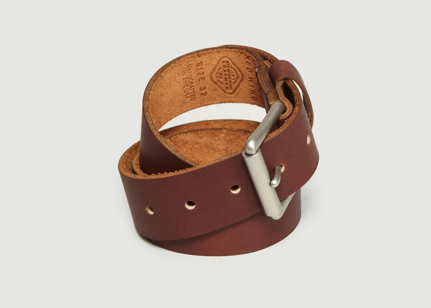 Ceinture En Cuir Pioneer - Red Wing Shoes