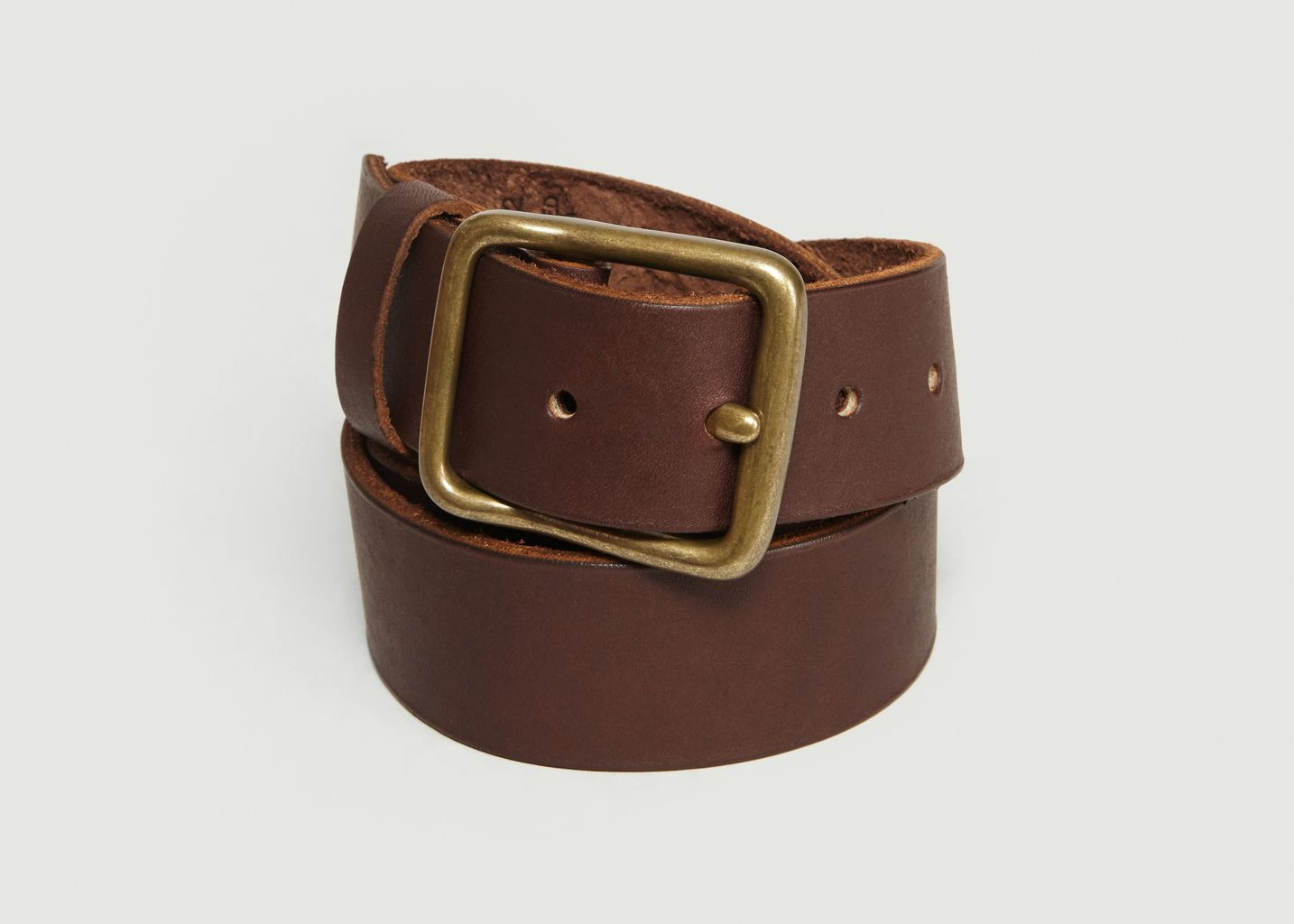 Ceinture En Cuir Pioneer Marron Red Wing Shoes   L Exception 7dc72af4f27