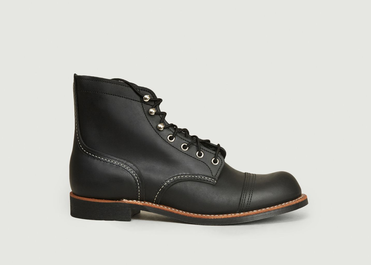 Boots Iron Ranger Black Harness - Red Wing Shoes