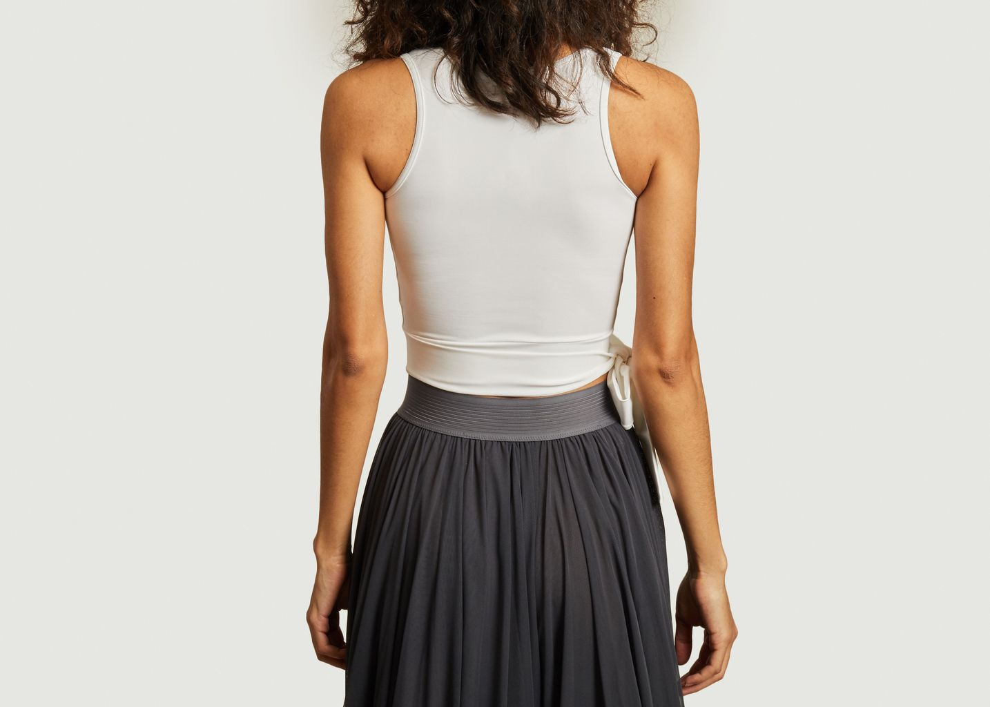 Crop top noué en jersey - Repetto