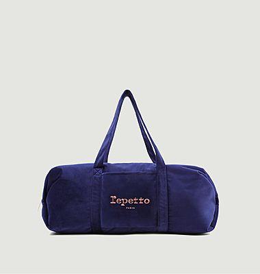 Velvet duffel bag size L