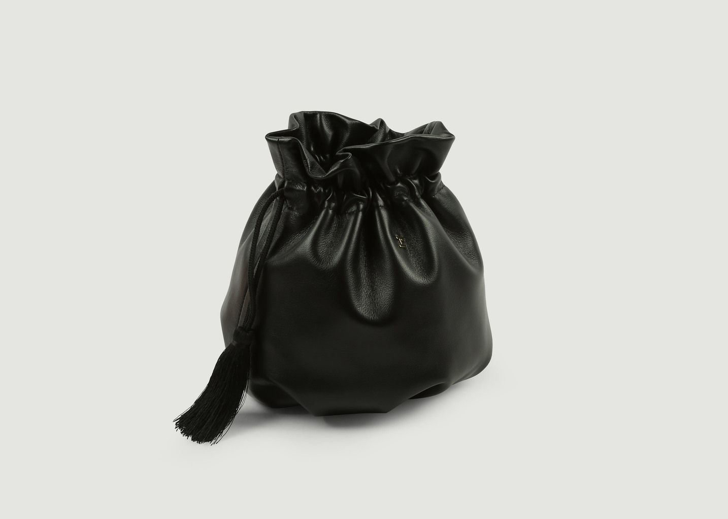 279445d8d8 Sac En Cuir Bourse Petit Air Noir Repetto | L'Exception