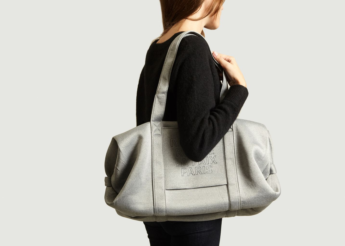 Sac Polochon Logotypé Jersey Taille L - Repetto