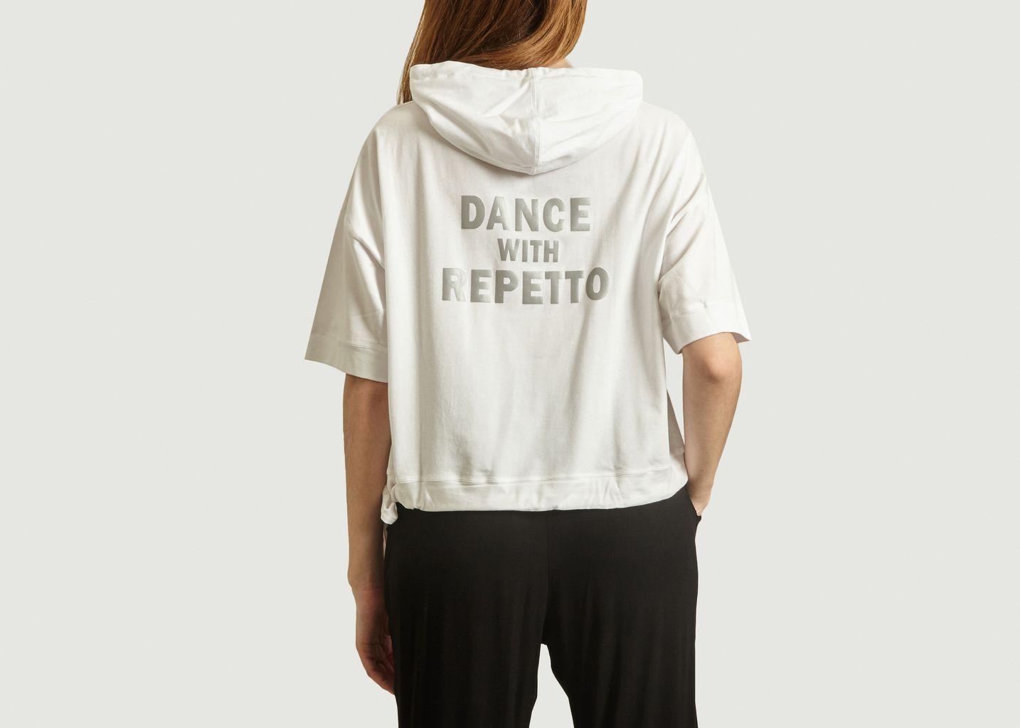T-Shirt A Capuche Dance With Repetto - Repetto