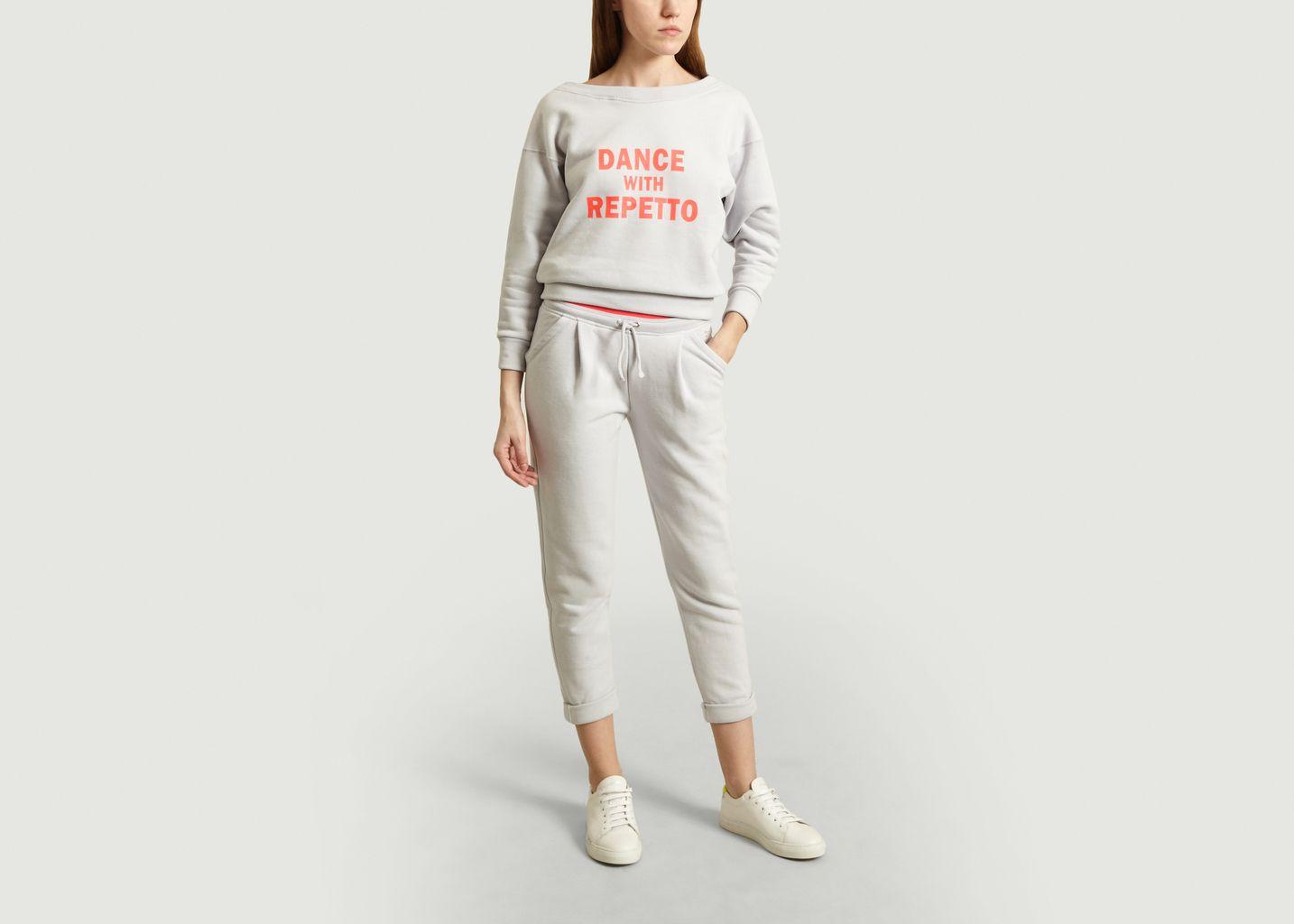 Pantalon De Jogging A Pinces 7/8e - Repetto