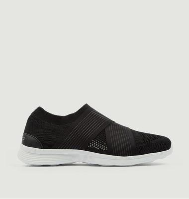 Sneakers en maille tricotée