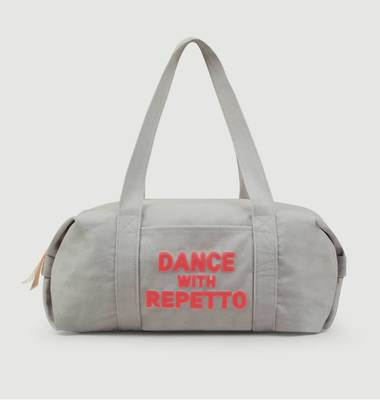 Sac polochon taille M en coton Dance With Repetto
