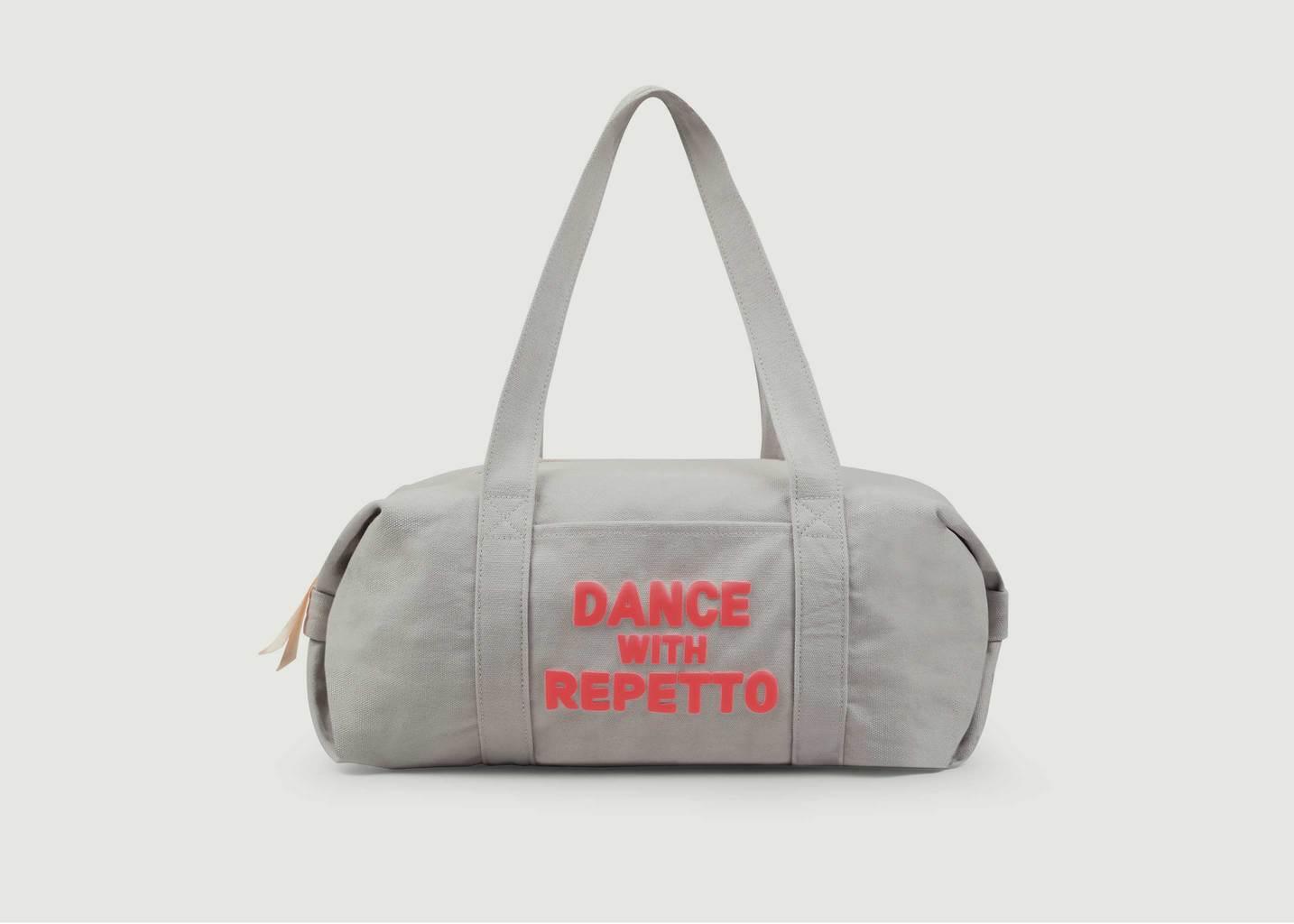 Sac polochon taille M en coton Dance With Repetto - Repetto