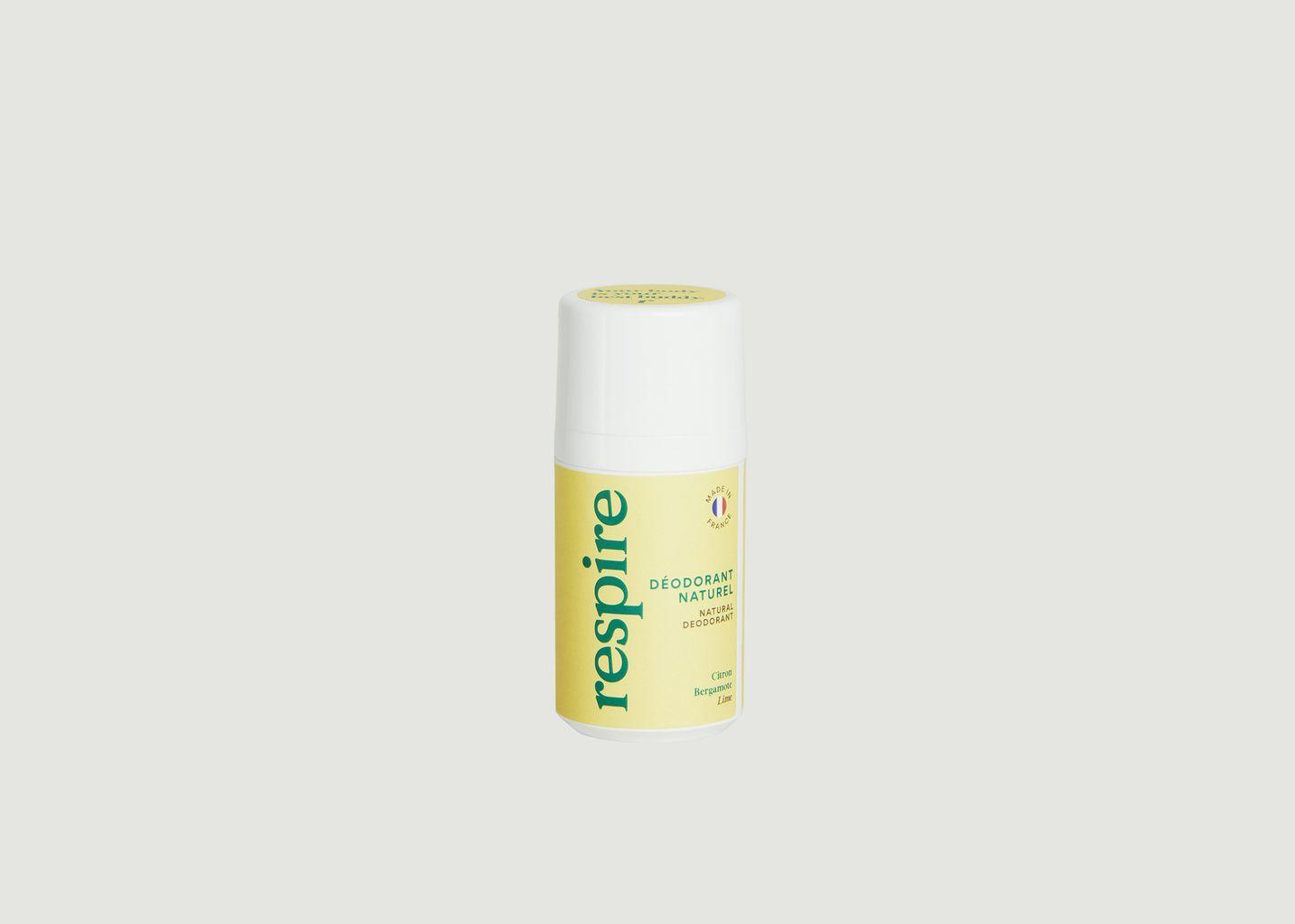 Déodorant Citron 50mL - Respire