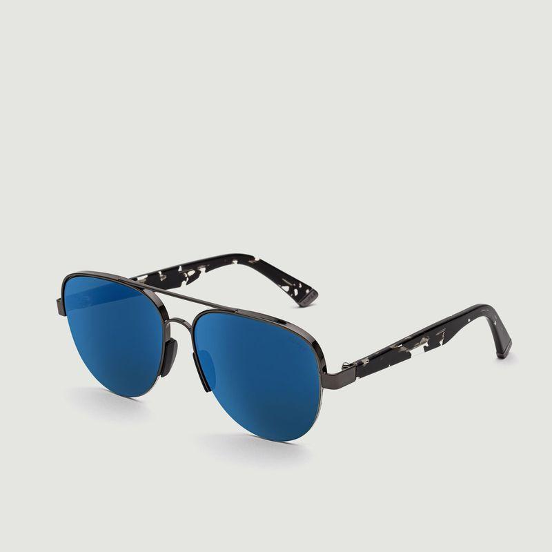 Lunettes de Soleil Air Blue Mirror  - RETROSUPERFUTURE