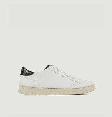 Sneakers en cuir N°14