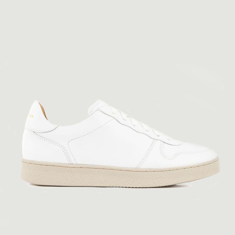 Sneakers en cuir N°12 - Rivecour
