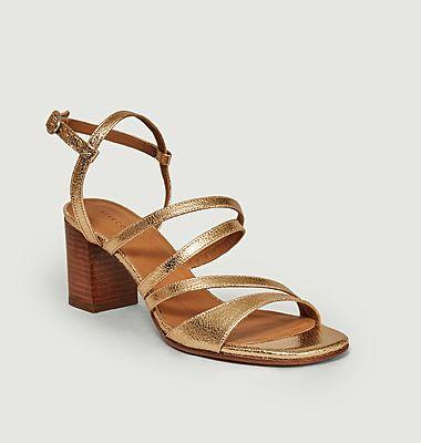 Sandales 653 en cuir