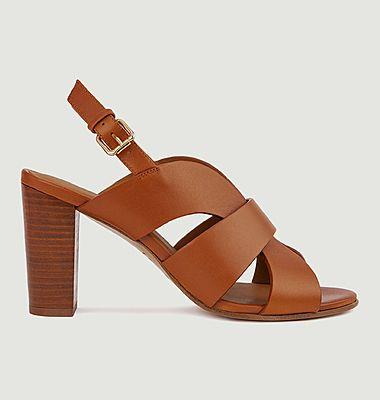 Sandales en cuir N°55
