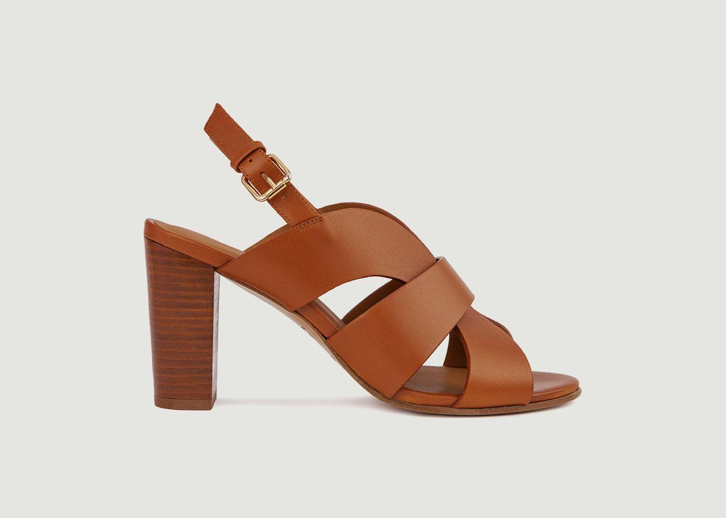 Sandales en cuir N°55 - Rivecour