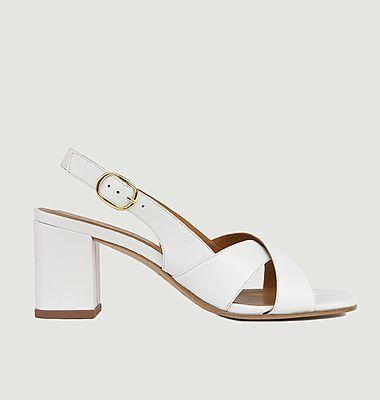 Sandales en cuir N°652
