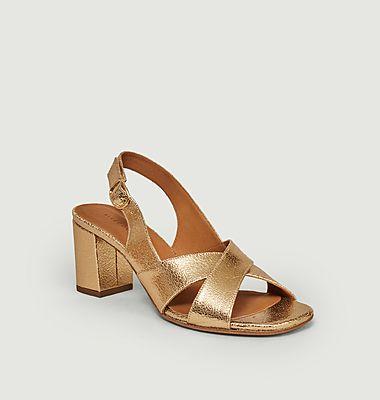 Sandales 652 en cuir
