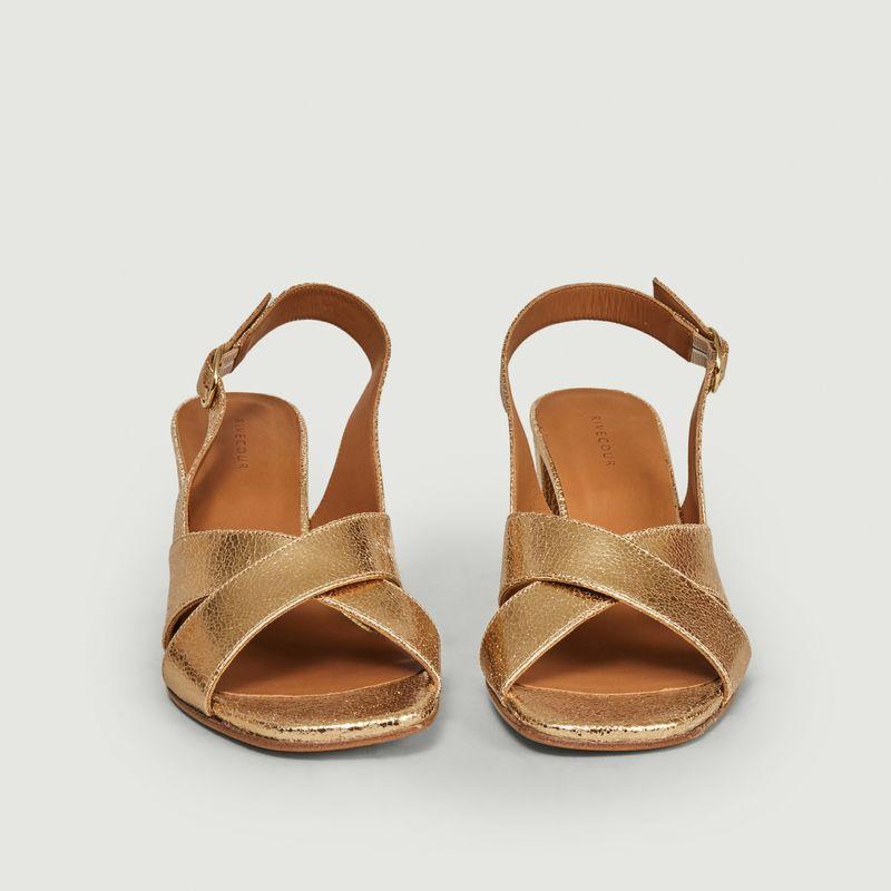 Sandales 652 en cuir  - Rivecour