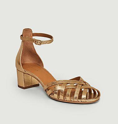 Sandales 451 en cuir