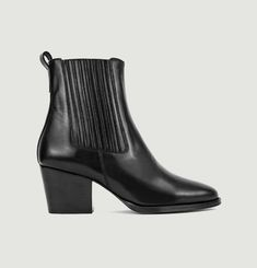 N°705 leather boots