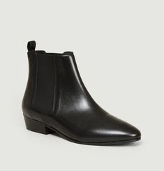 Bottines En Cuir N°66