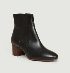 Bottines En Cuir N°298