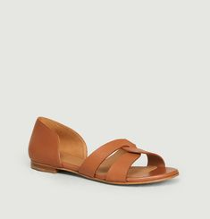 N°35 leather sandals