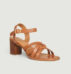 N°888 leather sandals