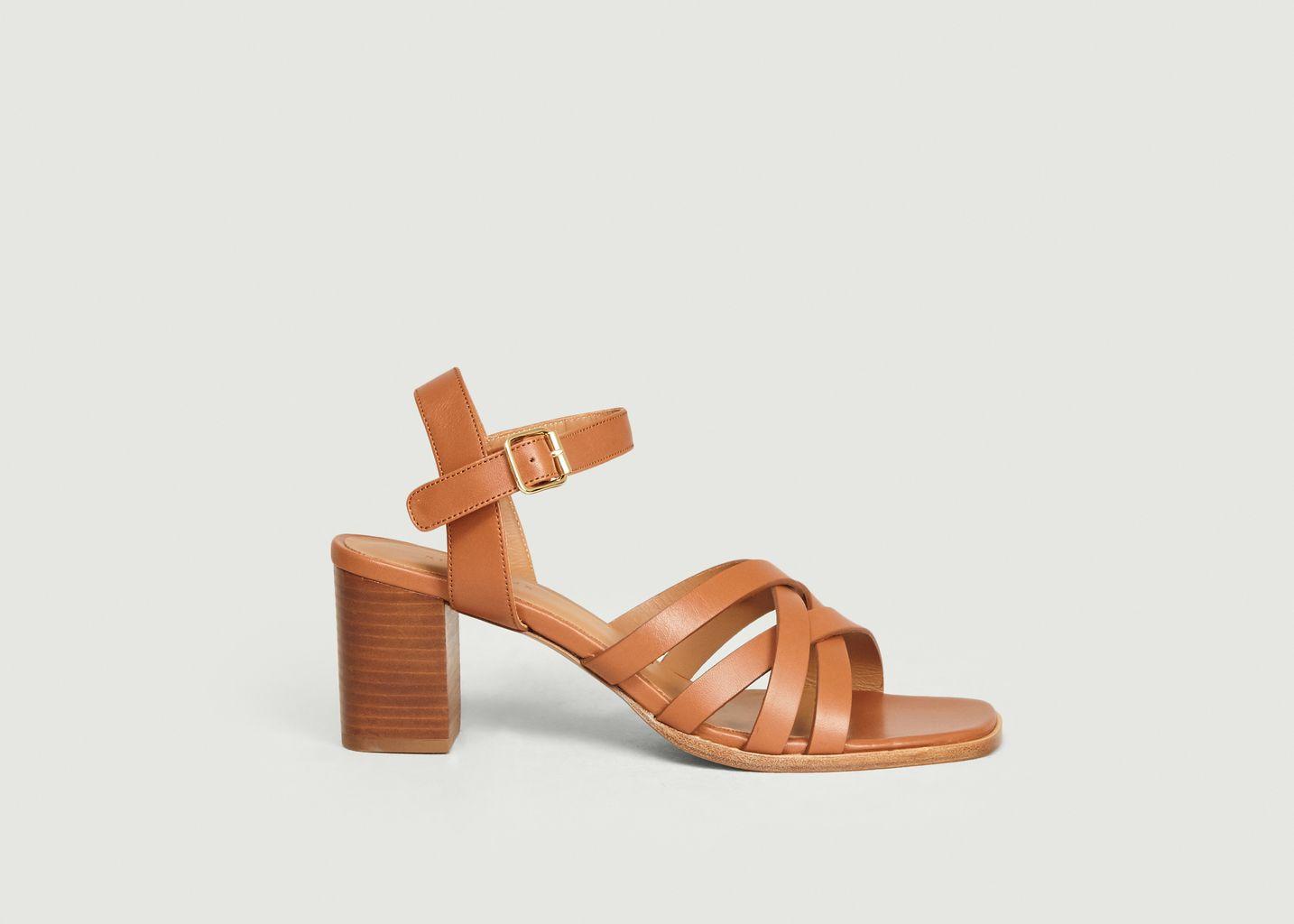 Sandales en cuir n°888 - Rivecour