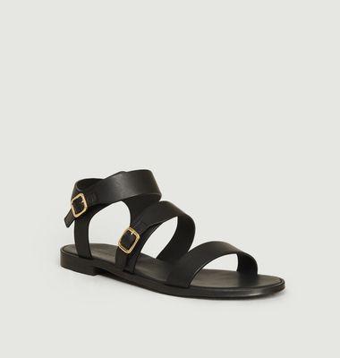 Sandales en cuir n°303