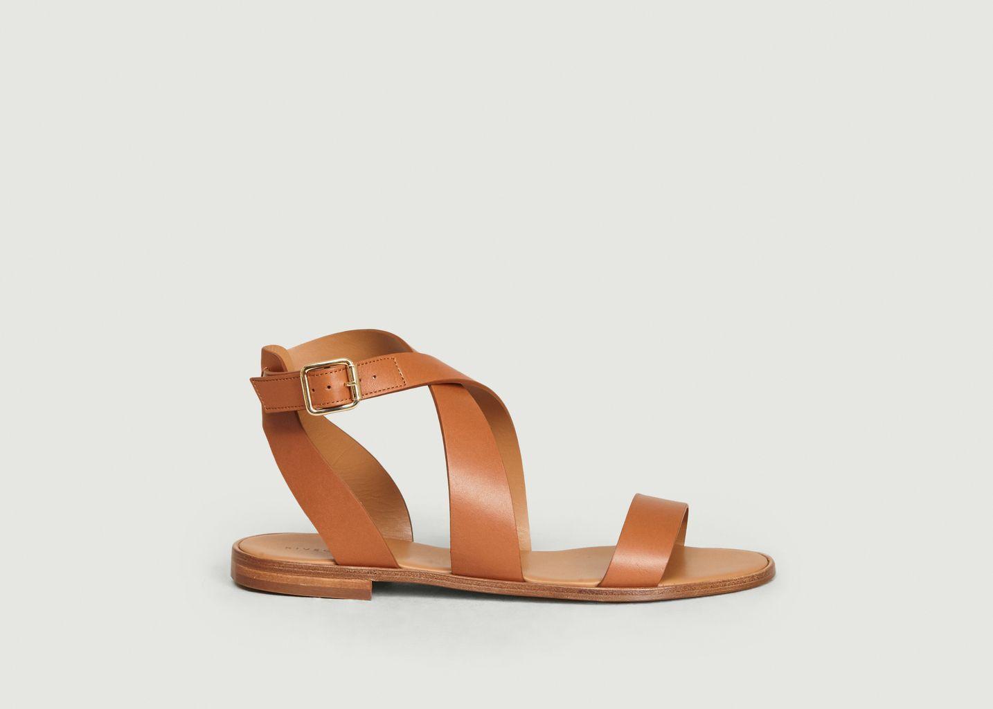 Sandales en cuir n°202 - Rivecour