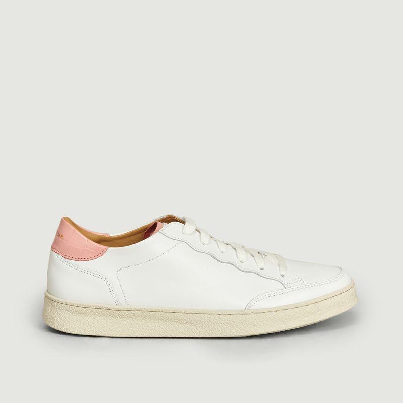 Sneakers En Cuir N°14 - Rivecour