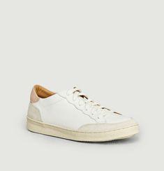 N°14 leather sneakers